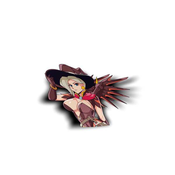 Witch Mercy Peeker