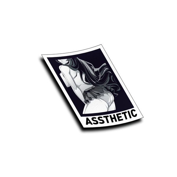 Assthetic Card Sticker