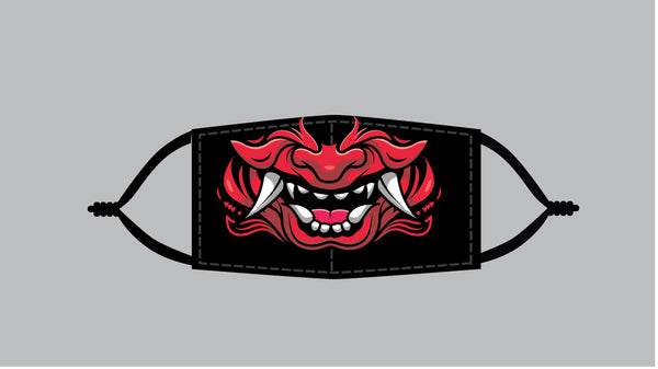 Red Oni (FULL SIZED PRINT) Mask