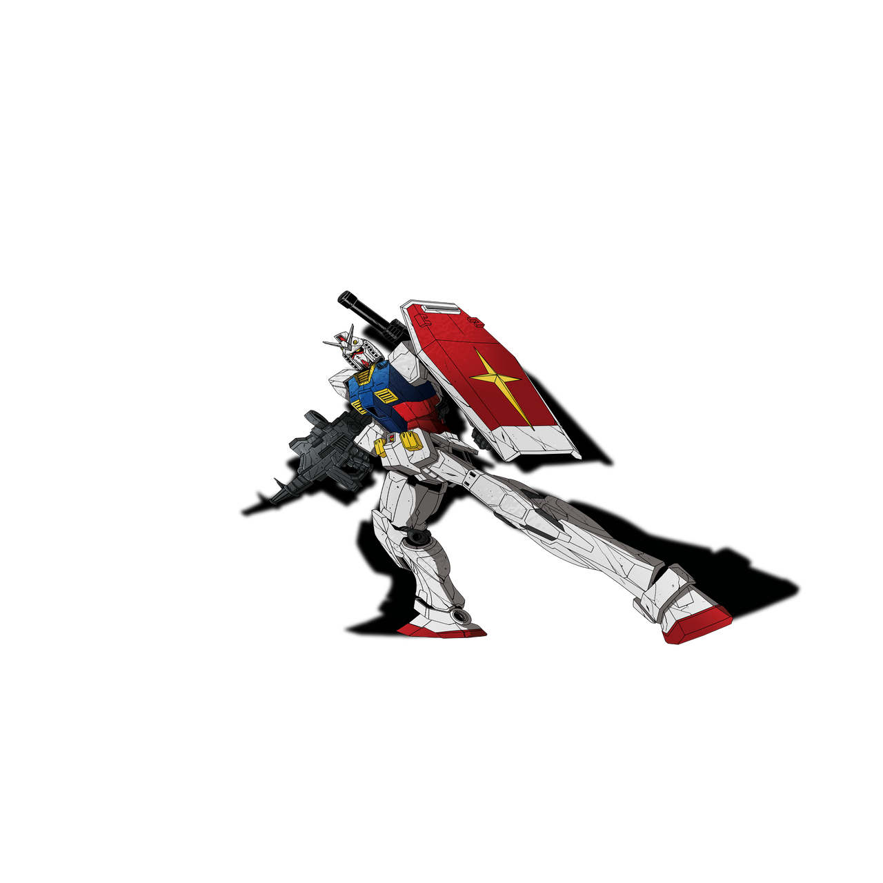 RX-78-2 Sticker Slap - Sticker Kawaii Desu