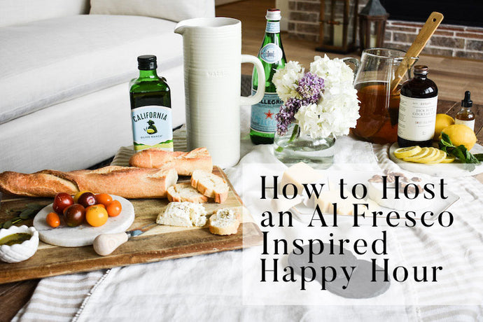 5 Steps to an Al Fresco Inspired Happy Hour