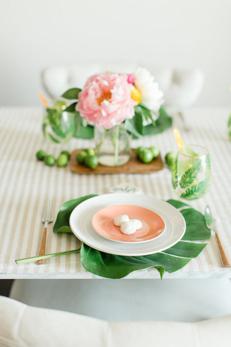 Island Inspired Summer Tablescape