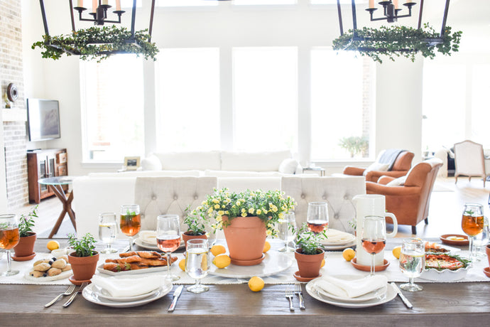 How to Make an Unforgettable Garden Party Brunch Table