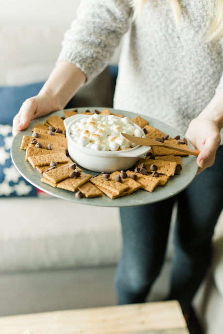 A simple and sharable s'more recipe