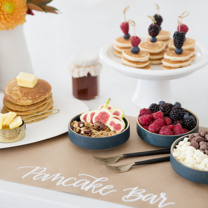 Beautiful Pancake Bar Ideas for A Cozy Fall Gathering