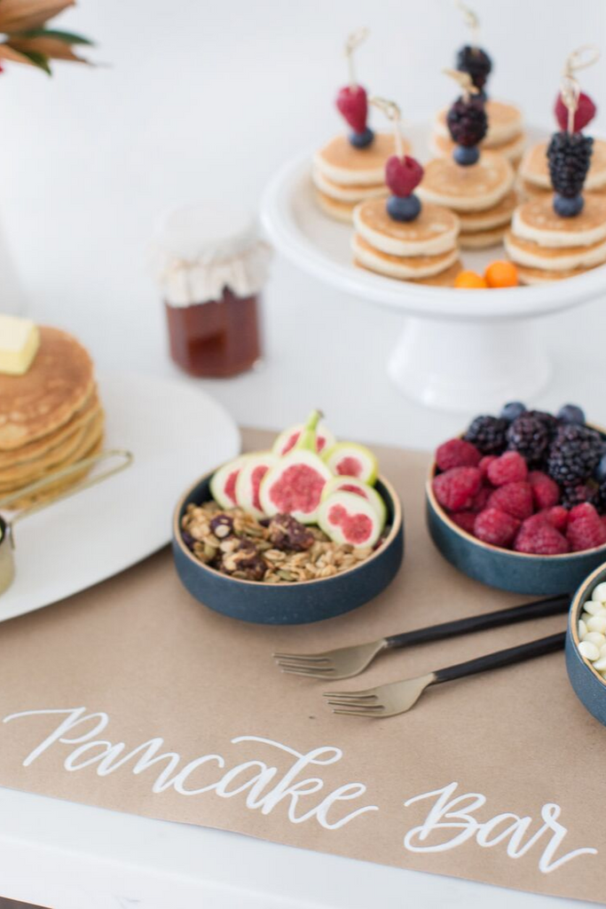 Pancake Bar Ideas