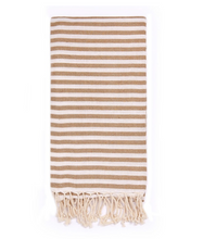 Load image into Gallery viewer, Turkish Cotton Towel - Beige