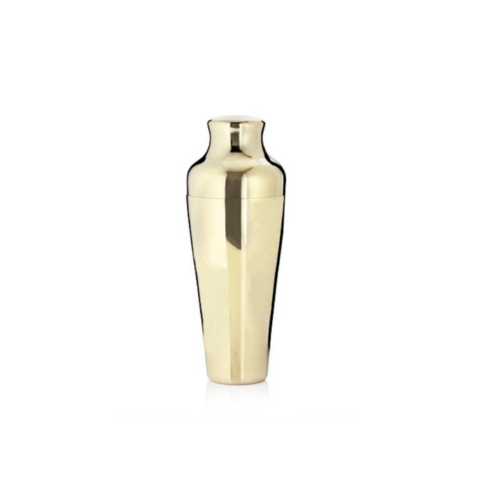 Gold Plated Cocktail Shaker