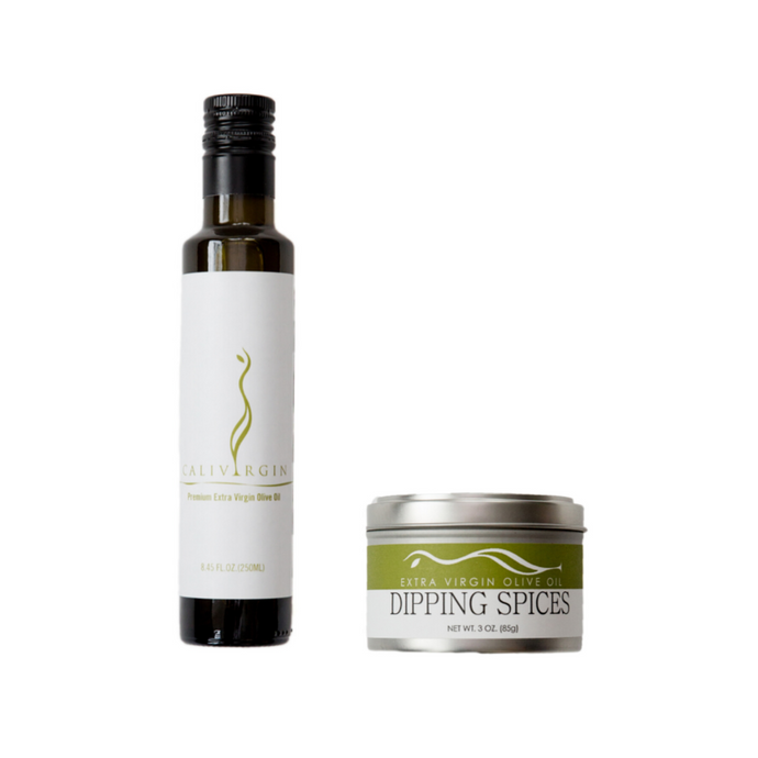 Olive Oil & Dipping Spices Set