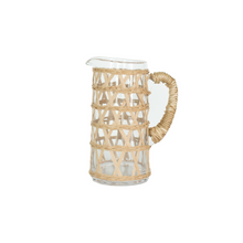 Load image into Gallery viewer, Hand-Woven Lattice Pitcher