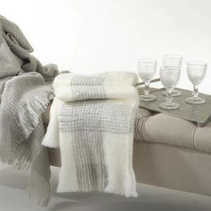 Super Soft Faux Mohair Throw