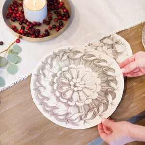 Round Paper Placemats (30)