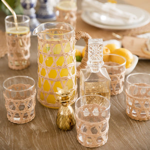 Hand-Woven Lattice Tumbler