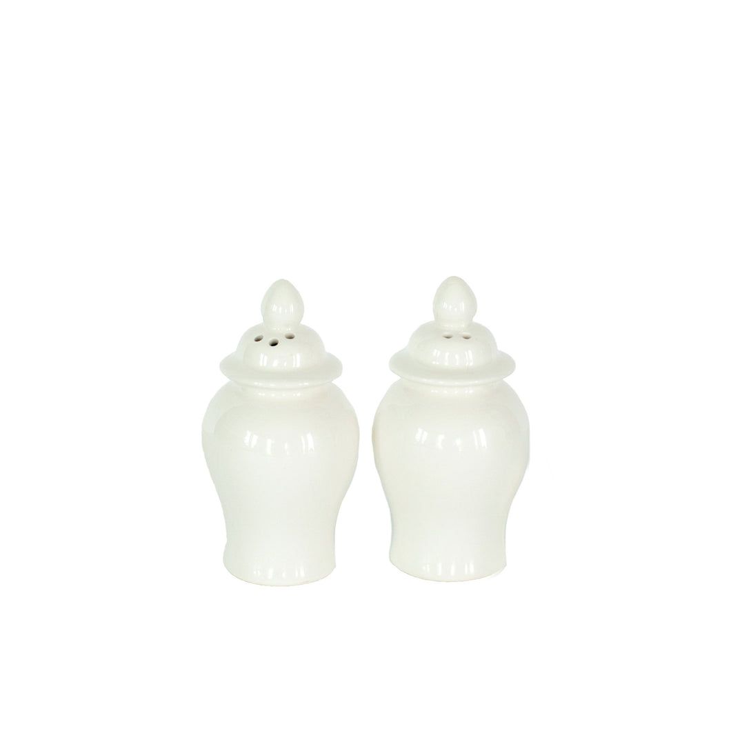 Ginger Jar Salt and Pepper Shakers