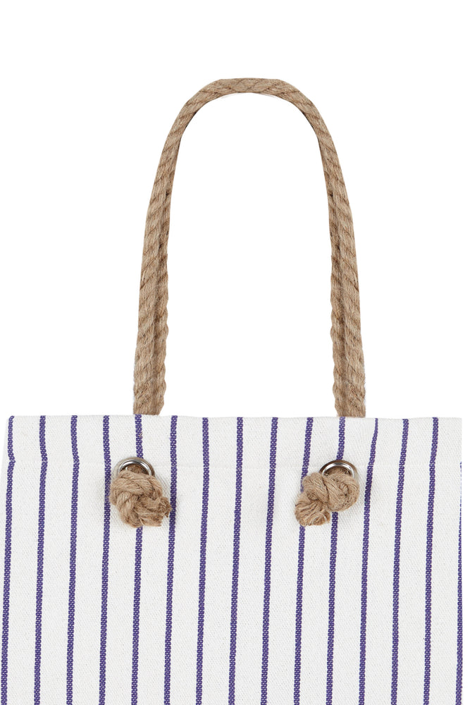 Bolso rectangular Loneta Malva