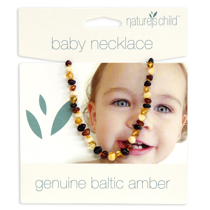 Amber Teething Necklace - Mixed