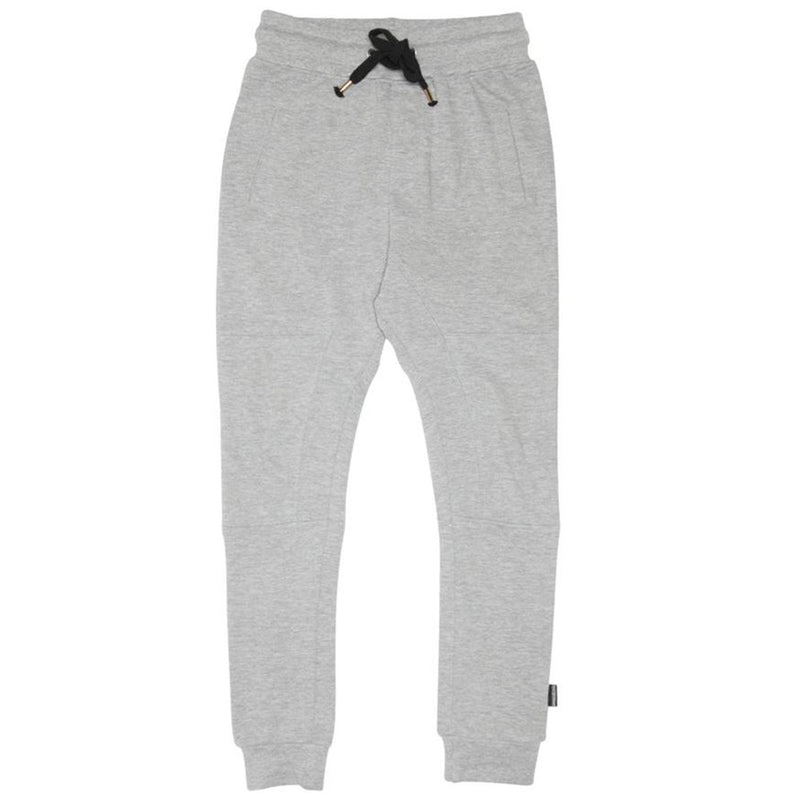 Organic Marle Grey Panel Trackies
