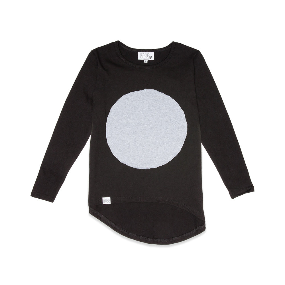 Circle Patch Longsleeve Tee
