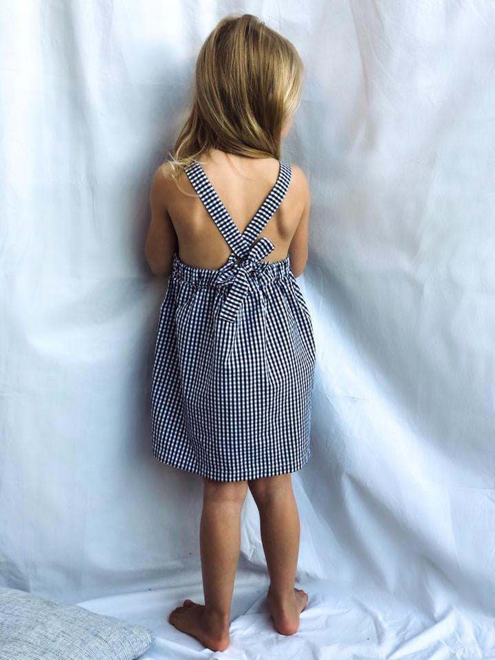 La Seine Gingham Pinafore