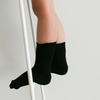 Lamington Black Crew Mid-Length Socks