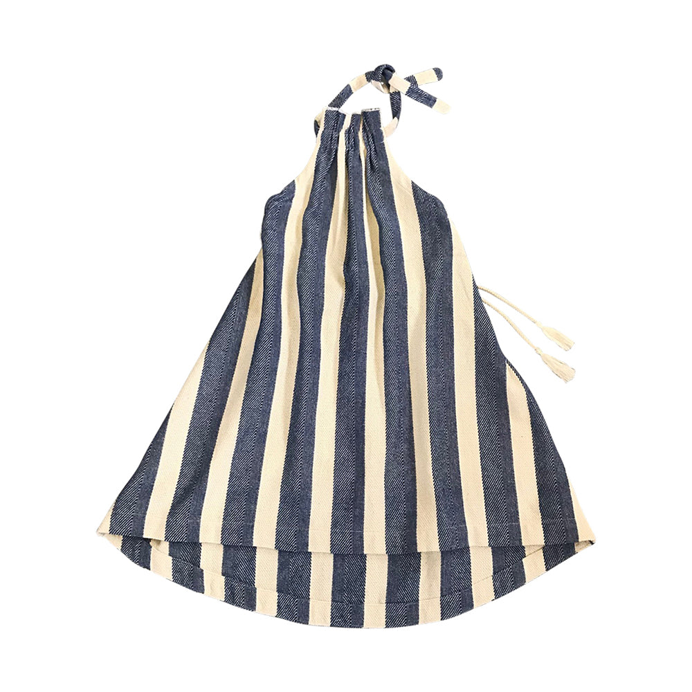 Elena Sack Dress - Hamptons Stripe
