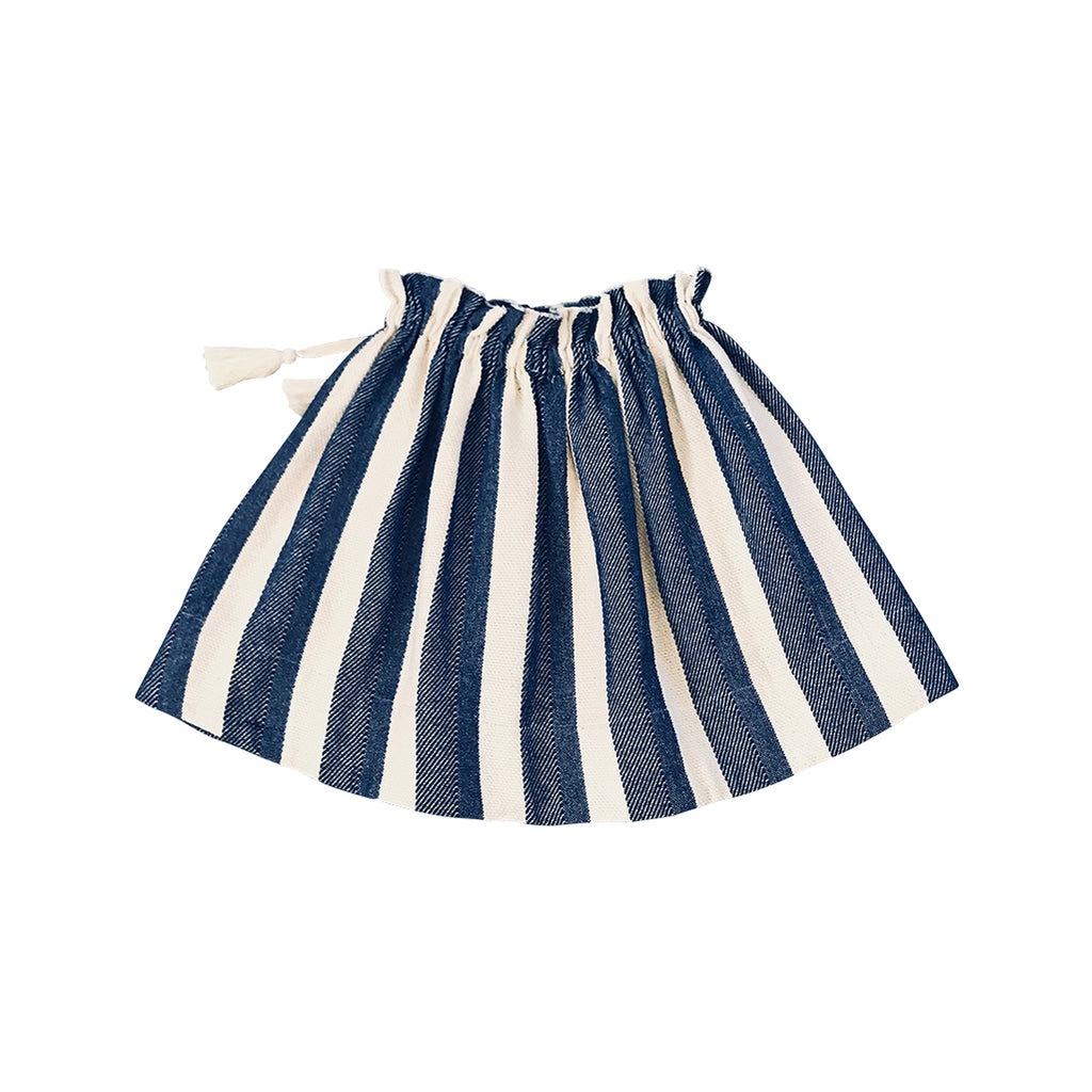 Daria Midi Skirt - Hamptons Stripe