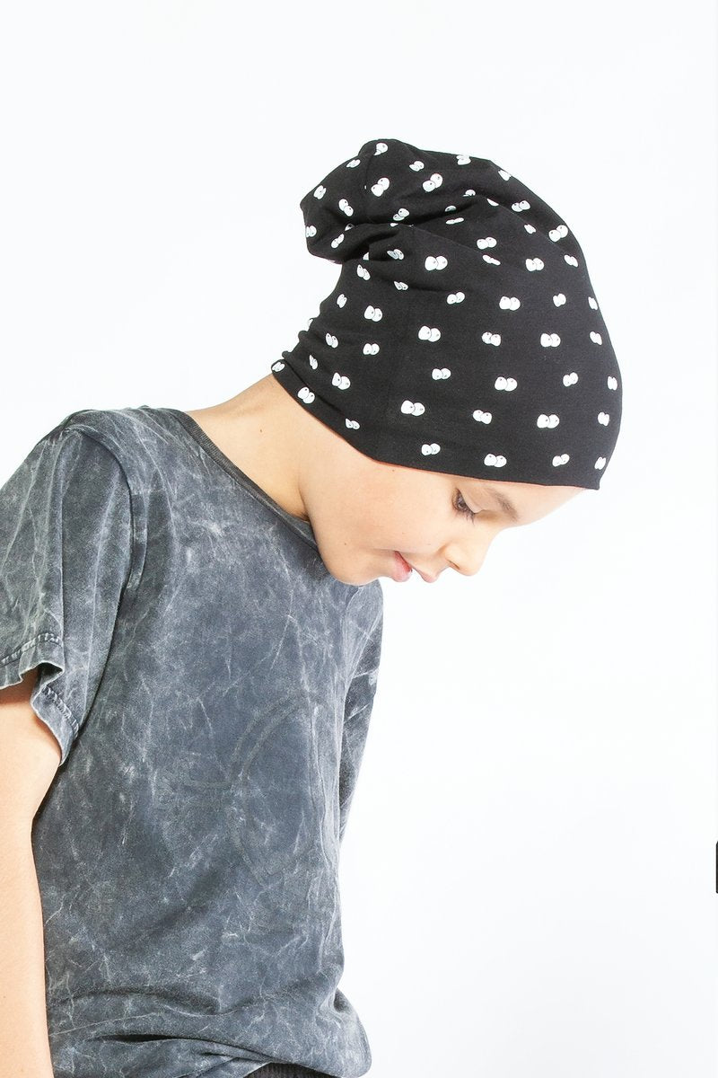 Eyes in the Dark Slouch Beanie