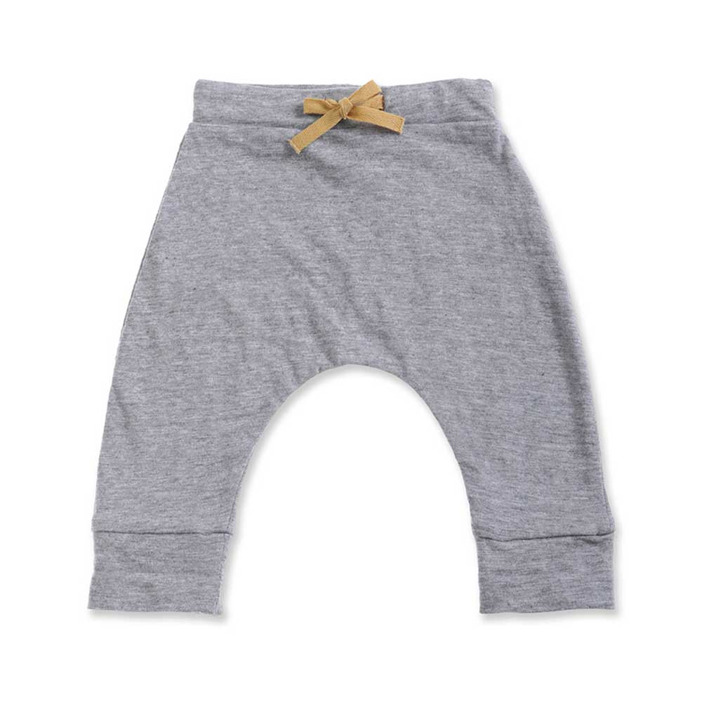Kai Jersey Marle Pants Grey