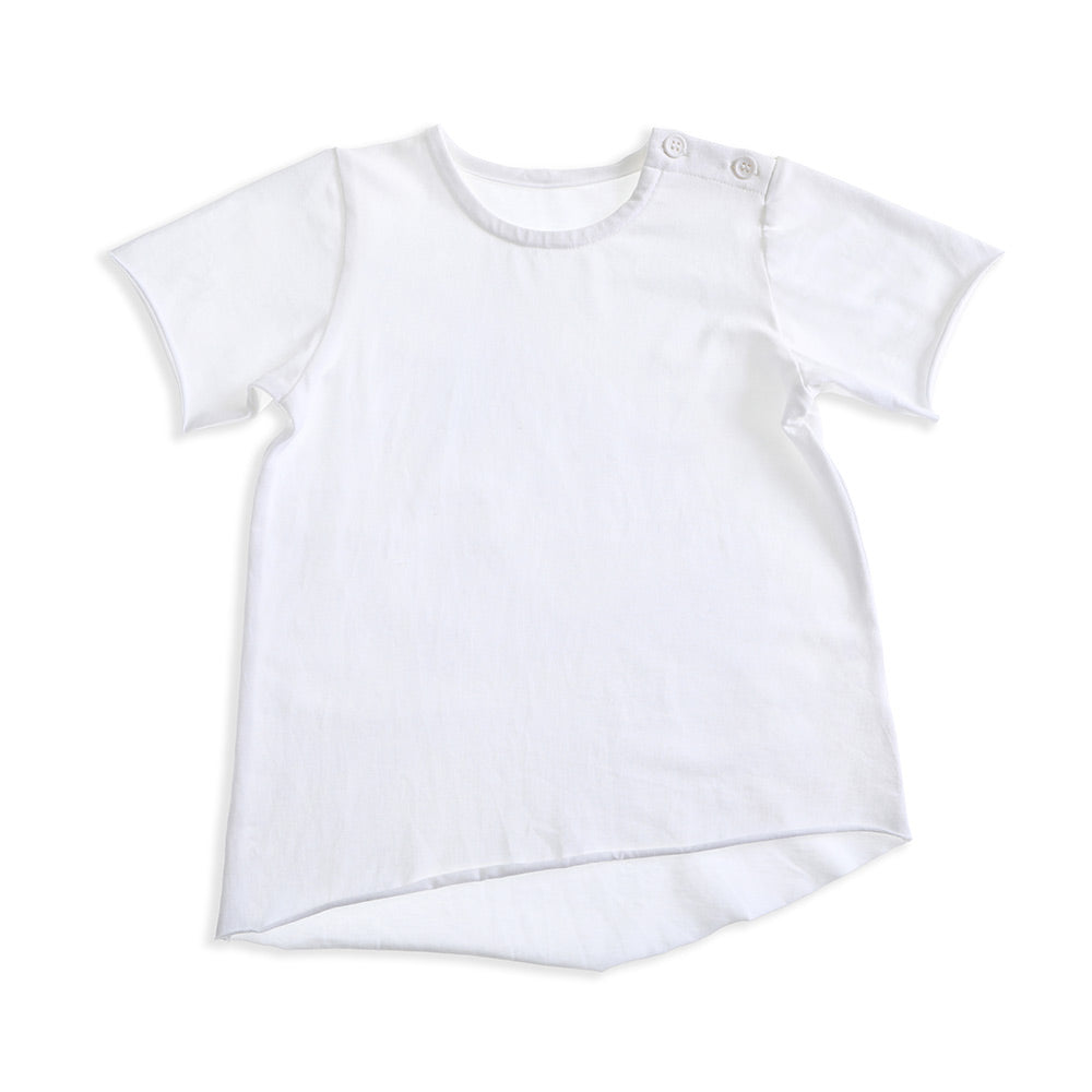 Lindy Rama-Ellis Edgy Tee White