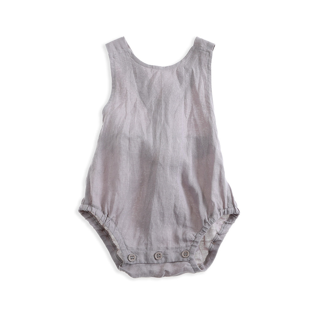 Lindy Klim Goldie Romper - Dove Grey