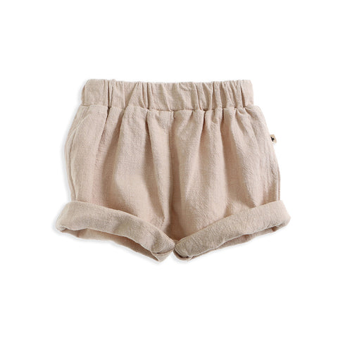Goldie + Ace Linen Bloomers - Natural