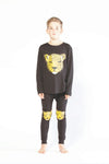 Leopard Face Winter PJ's