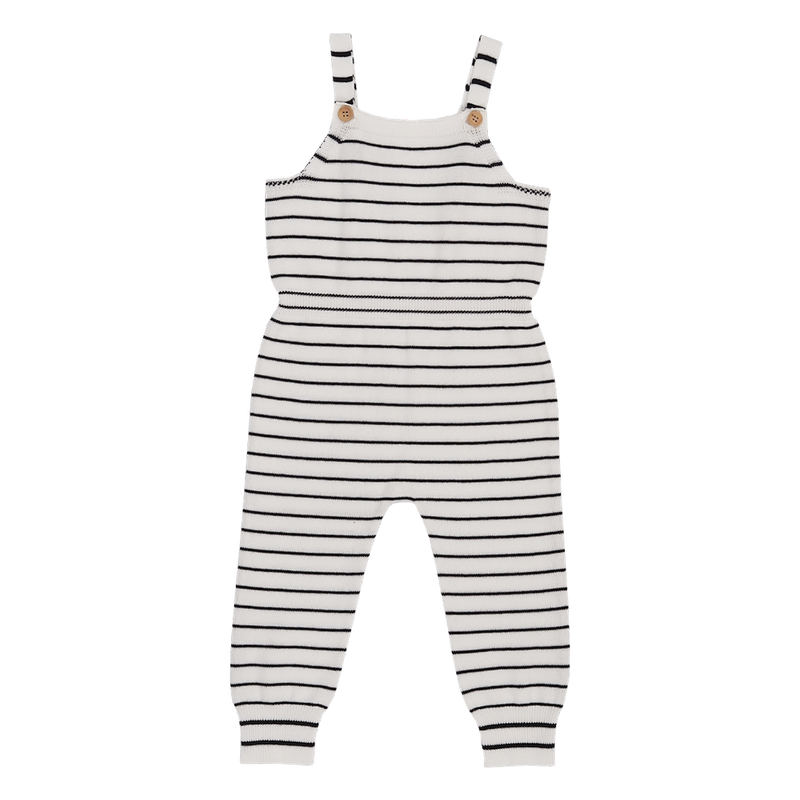 Self Yarn Striped - Overalls