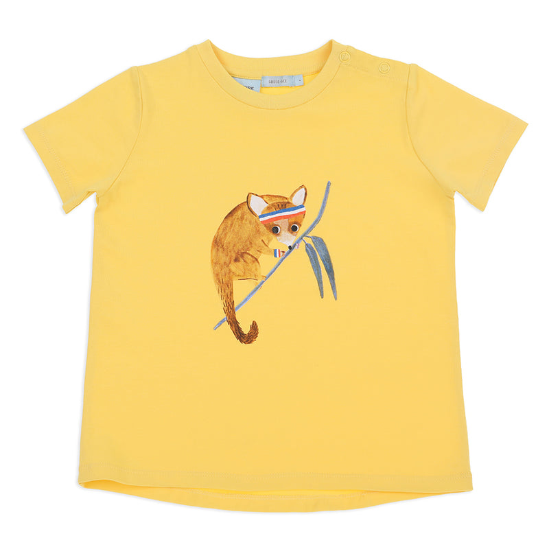 Percy The Possum T-Shirt Yellow