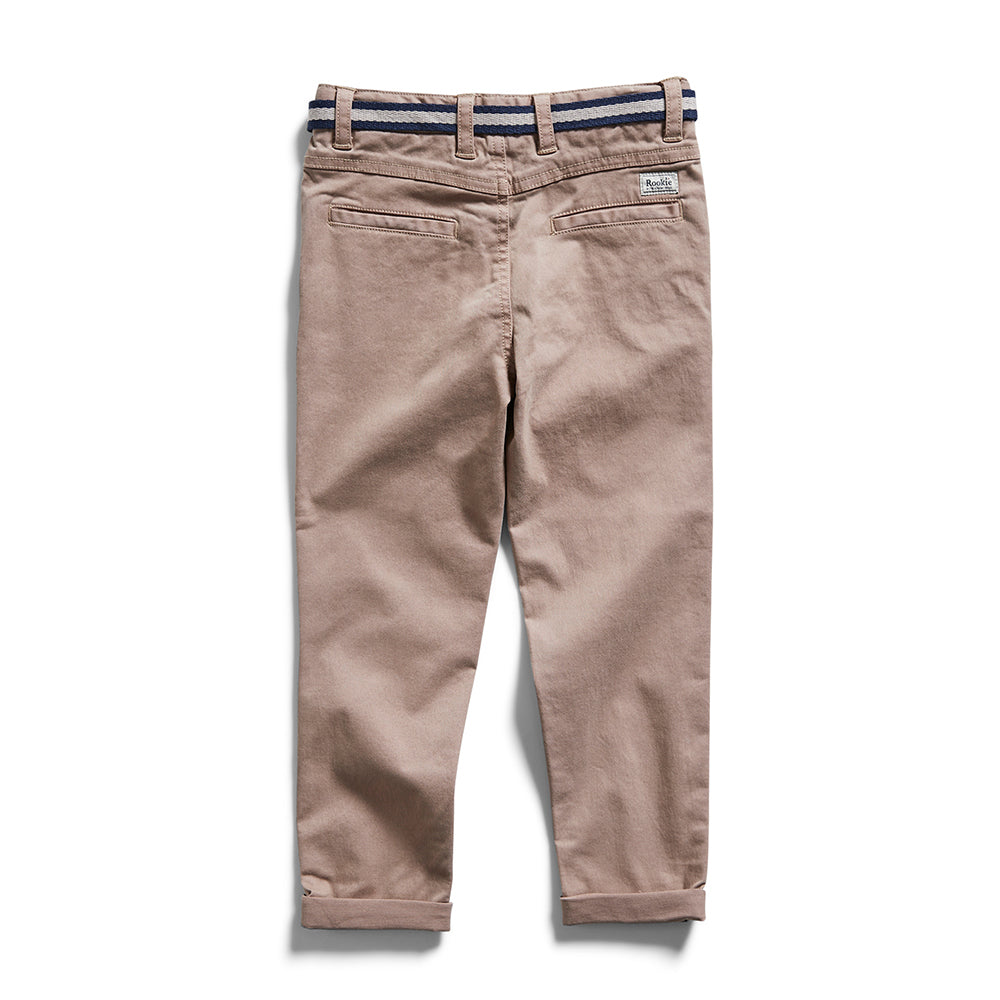 Rookie Slim Stretch Chino Coffee