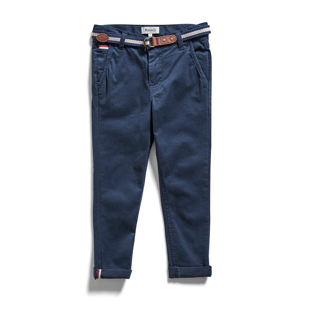 Rookie Slim Stretch Chino Navy