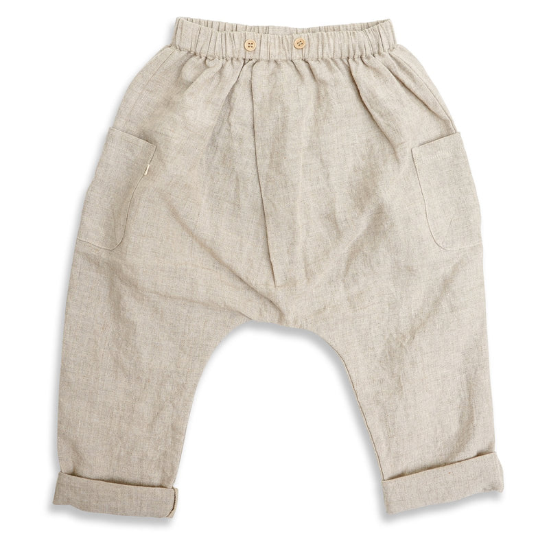 Lindy Rama-Ellis Rocco Linen Pants Natural