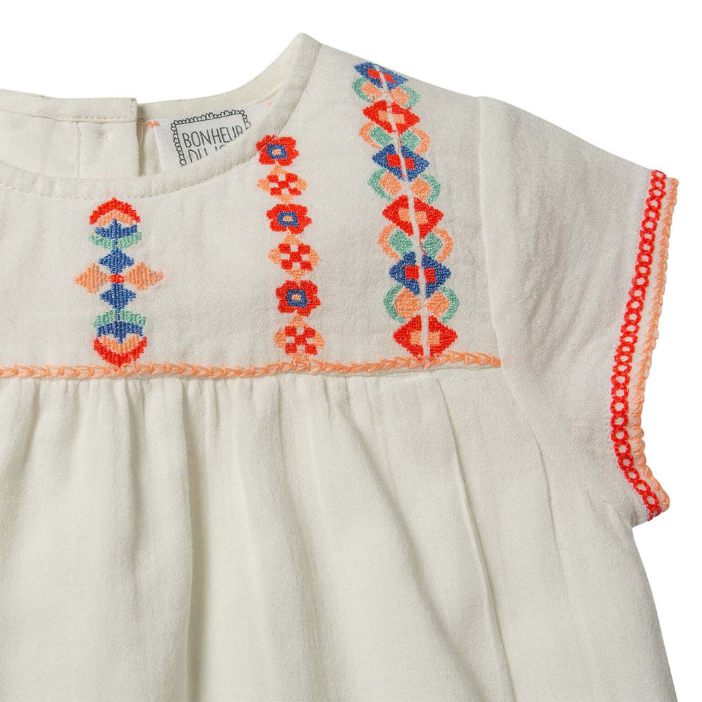 Roma Embroidered Dress