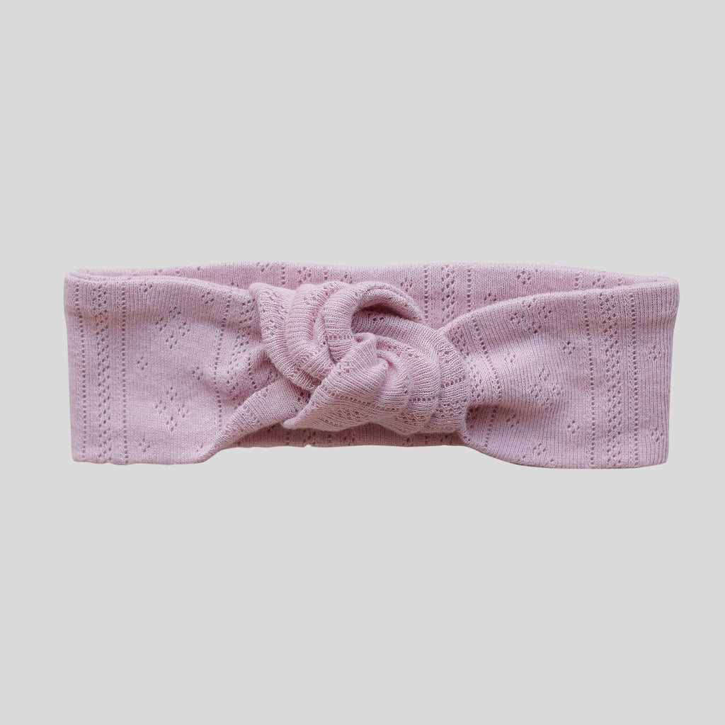 Rose Topknot Headband