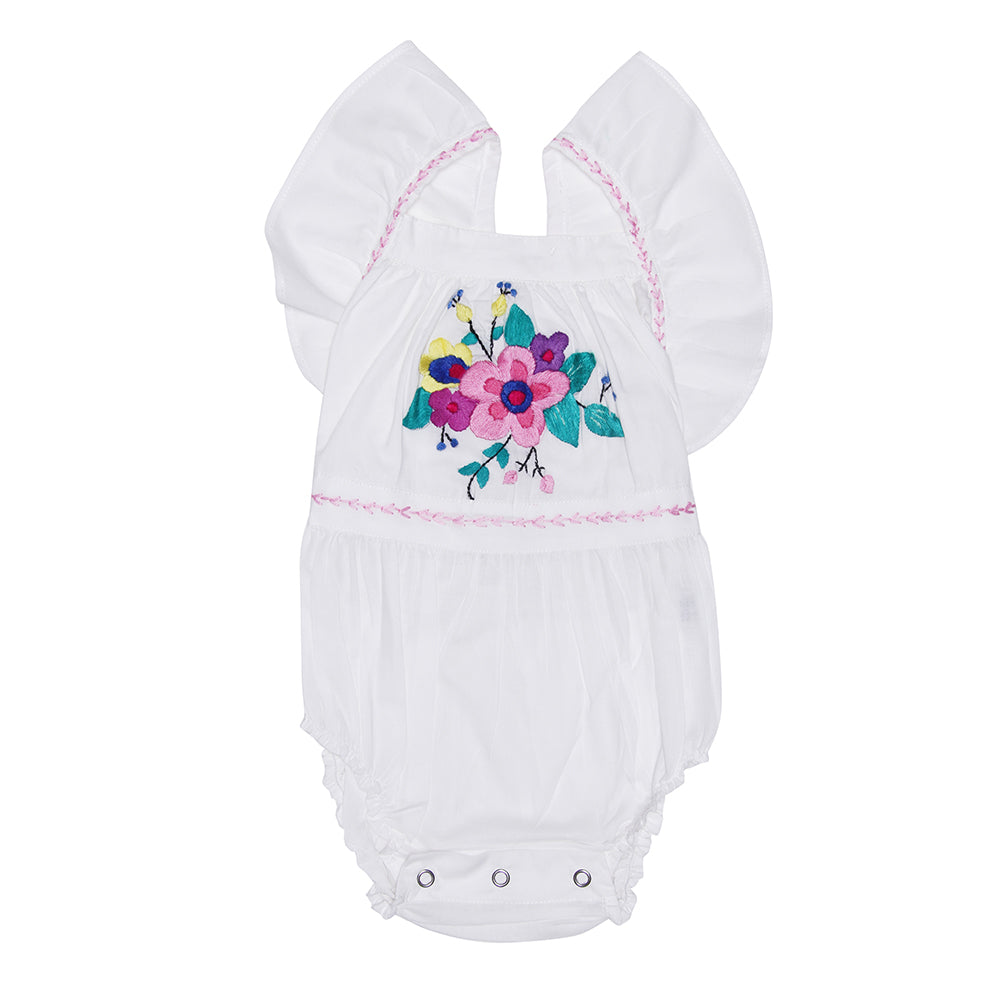 Camille Sunsuit - White