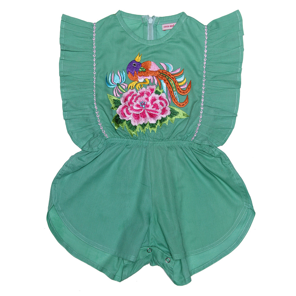 Delphine Sunsuit - Mint