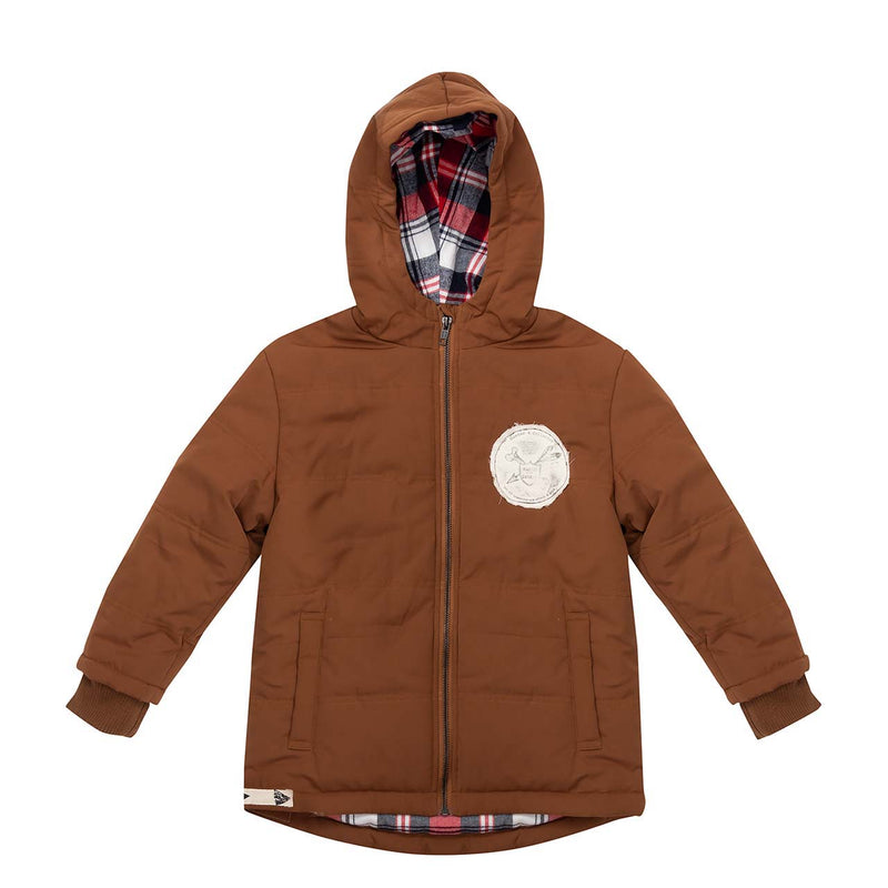 Boston Jacket - Burnt Toffee
