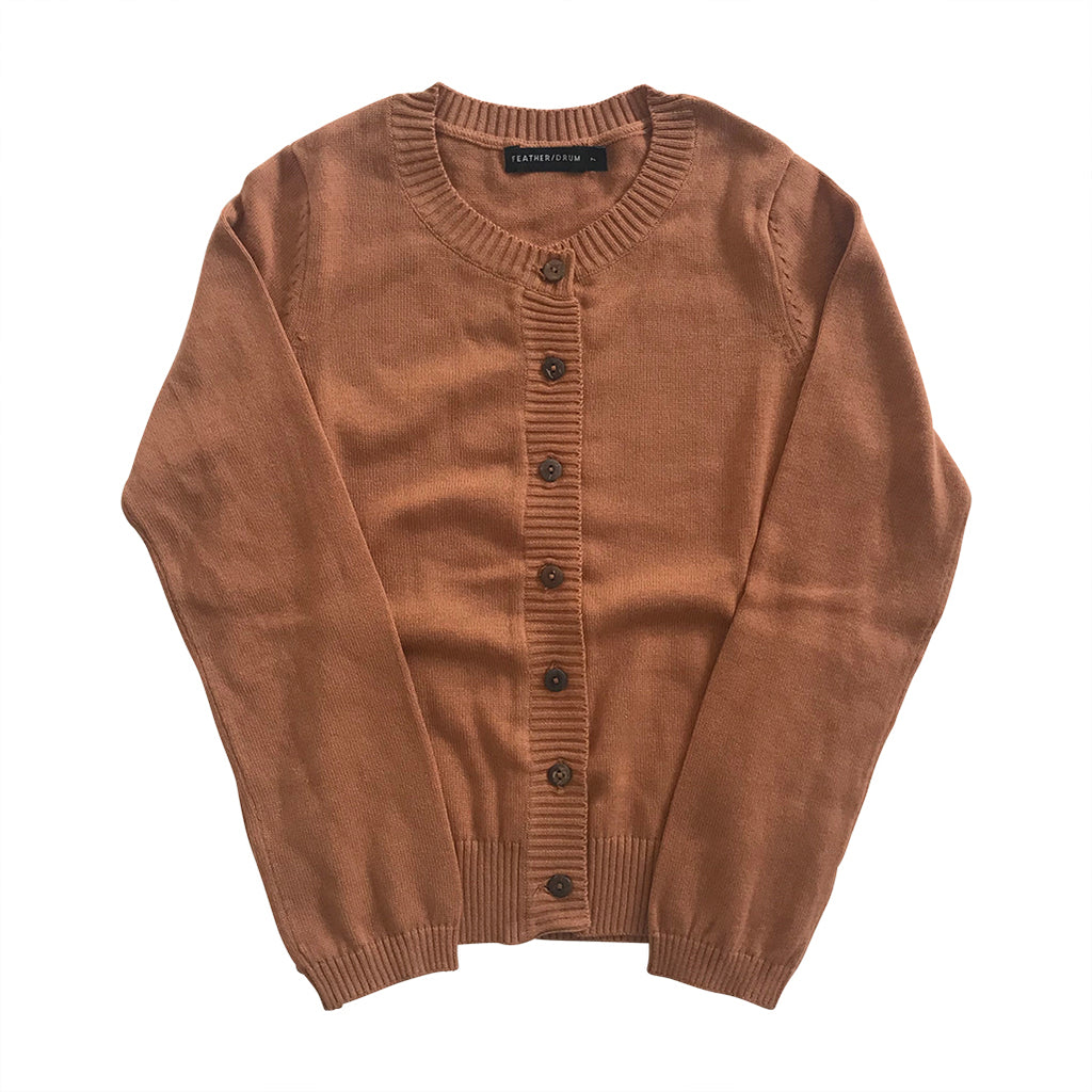 Luxe Adair Cardigan - Toffee