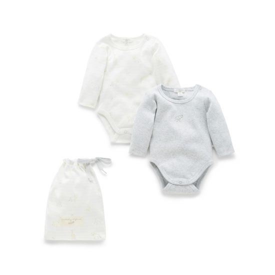 Animal Friends 2-Pack Bodysuit Gift Pack