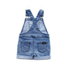 Blue Denim Short Overalls