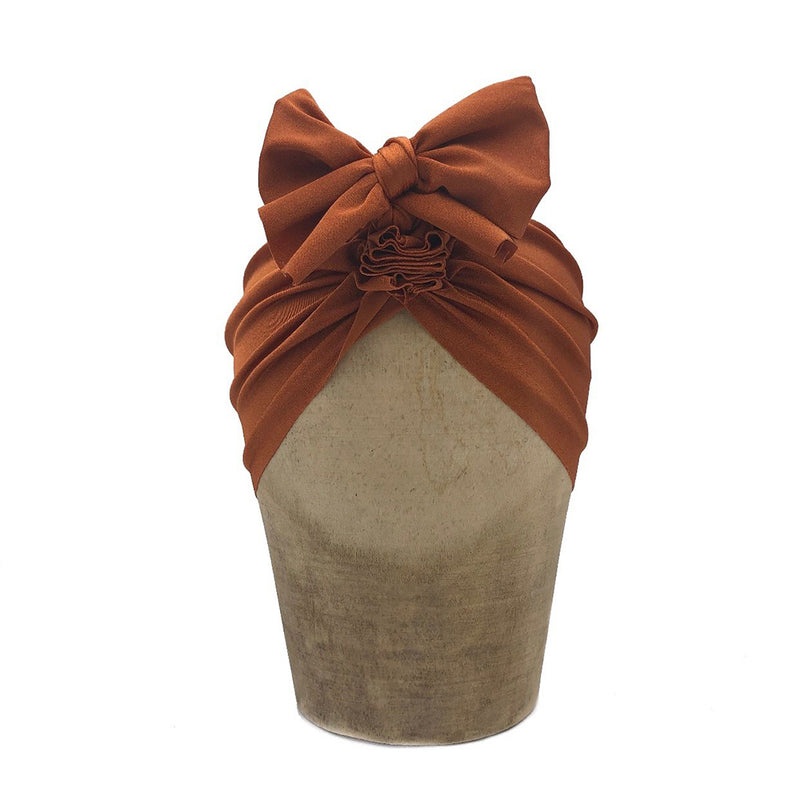 Brown Brick Headwrap