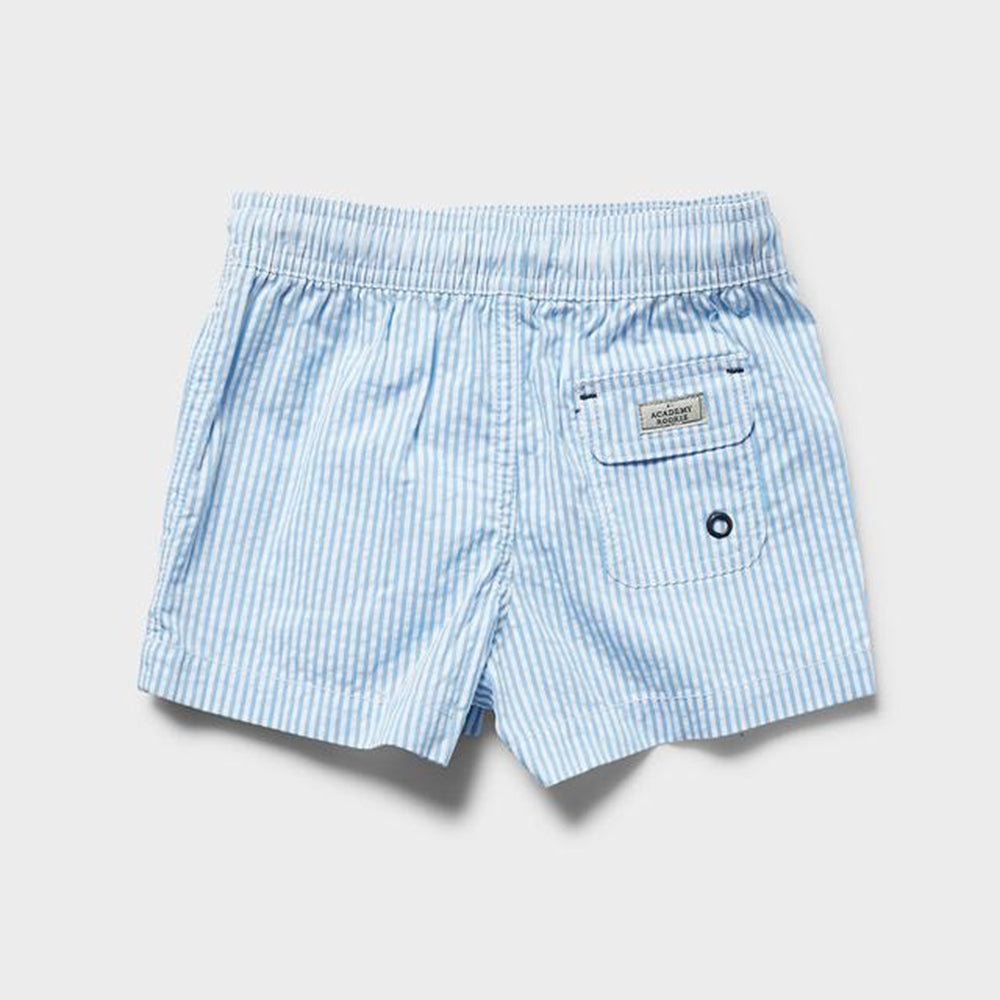 Rookie Collier Boardshort - Blue/White Stripe