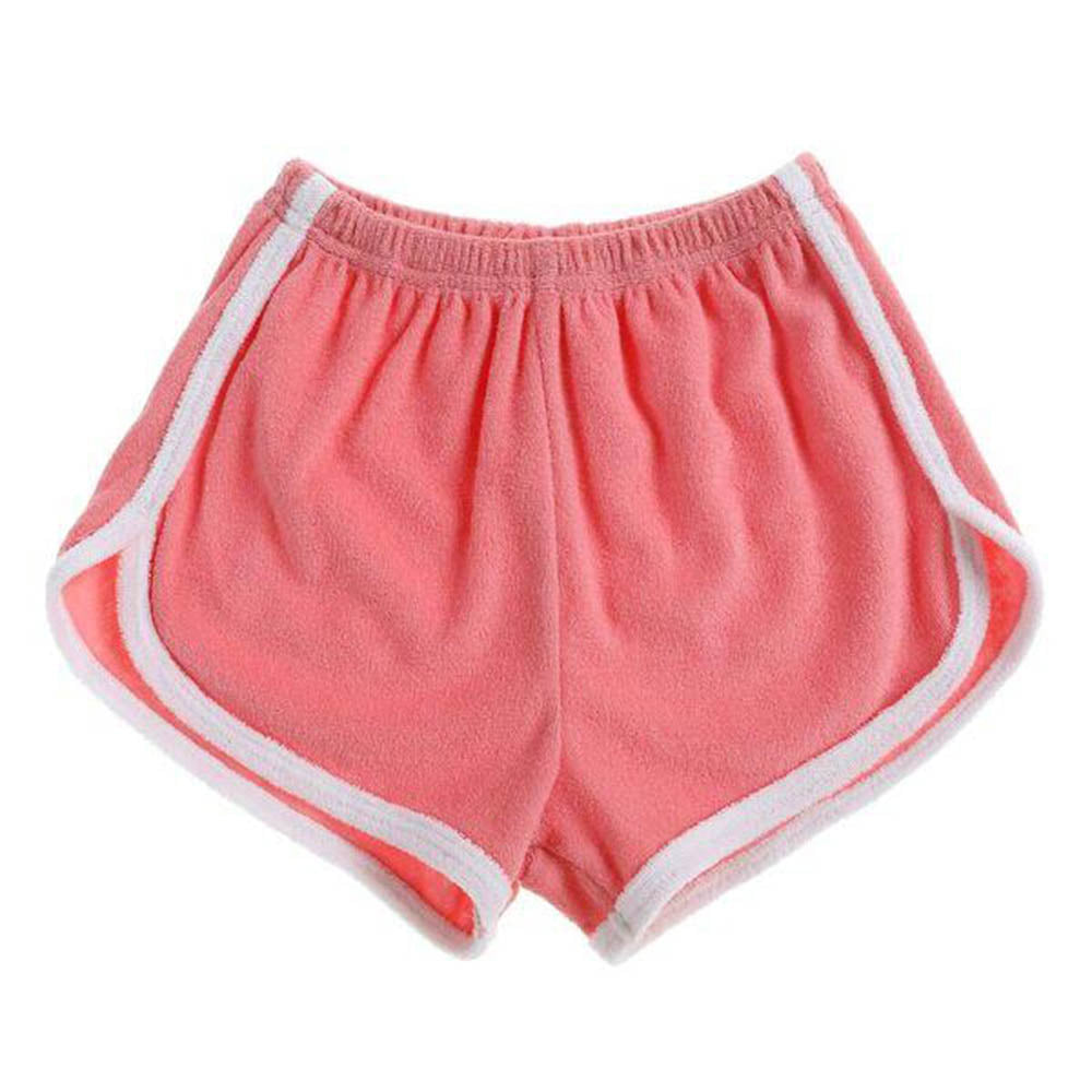 Terry Towel Shorties - Coral