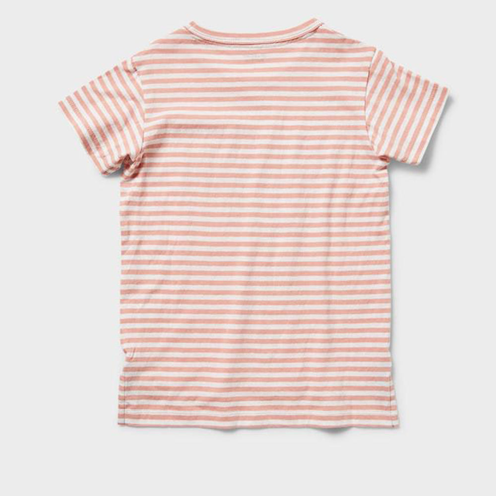 Rookie Crestwood Striped Tee -  Watermelon