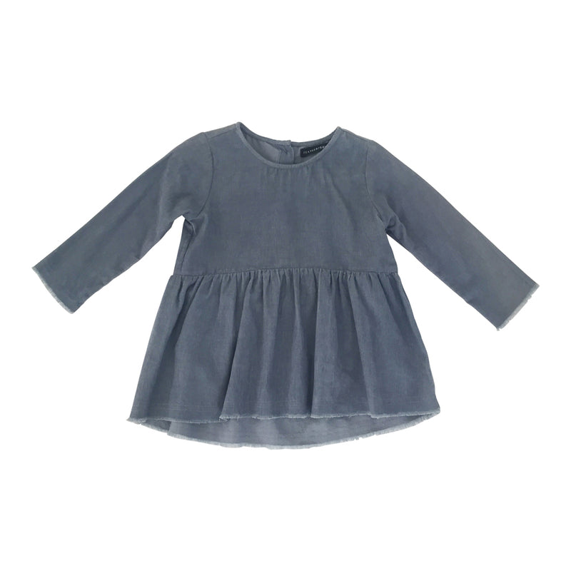 Eliza Smock Top - Bluemoon